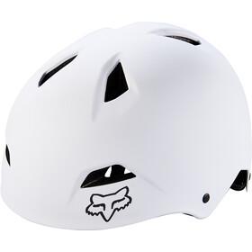 Fox Flight Sport Casco Hombre, white/black